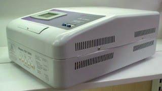 Стабилизатор напряжения Luxeon EW-12000 релейный, обзор, тест, купить