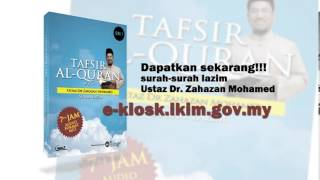 Promo - Tafsir Al-Quran SIRI 1 oleh Ustaz Dr. Zahazan