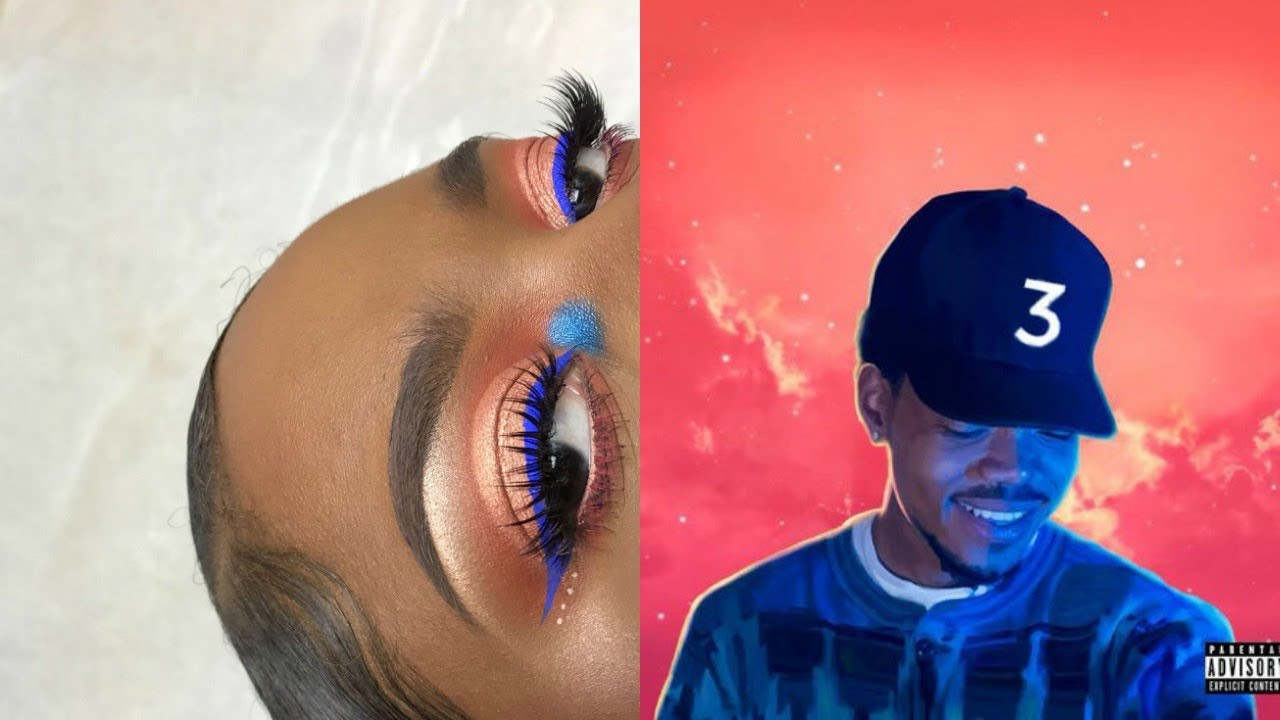 The colouring book album - Chance The Rapper The Coloring Book Inspired Album Cover Makeup Tutorial