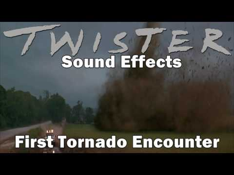 Twister Sound Effects - First Tornado Encounter