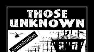 Those Unknown-Building a Prison
