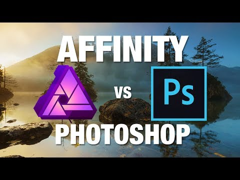 AFFINITY PHOTO vs PHOTOSHOP 📷 How great is the 50$ Software?