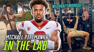 USC STAR Michael Pittman Jr Has Something To PROVE! Exclusive Workouts With COLTS New Wide Receiver!