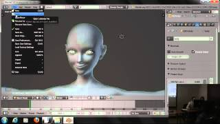 Сложная анимация в Blender rigging, skinning, facial animation (part 05)