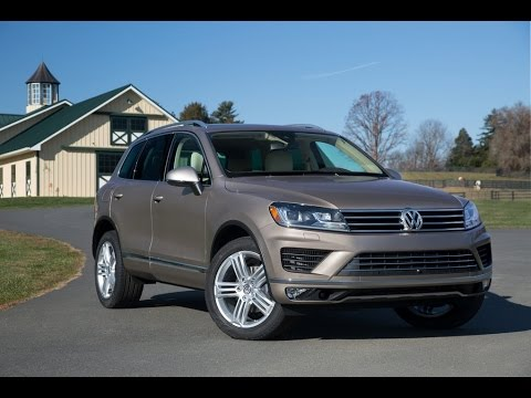 New Volkswagen Touareg 2015 (US Spec)