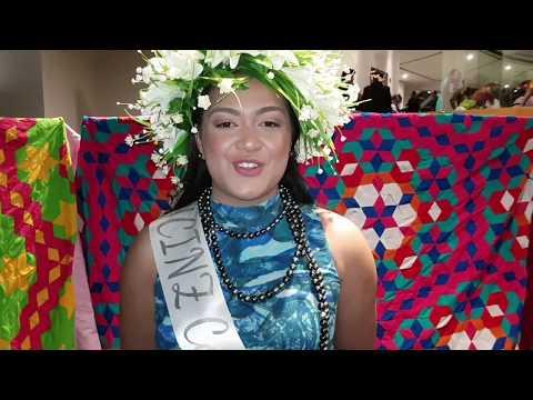 Miss Cook Islands NZ 2017 Contestant: Magdalene Kareroa