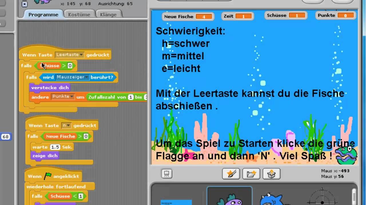 Scratch 2 Spiele