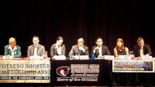 2 of 11 SF Mayoral Debate Potrero Hill
