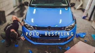 VolksWagen polo. Поклейка. Брендування. G-AutoStyle.com(, 2018-04-04T05:24:18.000Z)