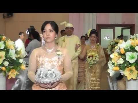 Myanmar Traditional Wedding