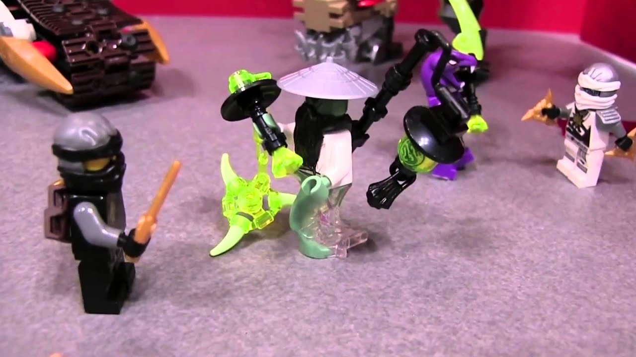 LEGO® Ninjago™   S7 Theory - Sensei Yang Uses Lamp To ...
