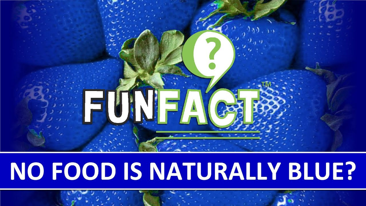 Is There Any Natural Blue Food