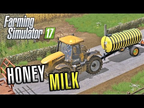 Farming Simulator 2017 | HONEYMILK | Sandy Bay | Episode 17