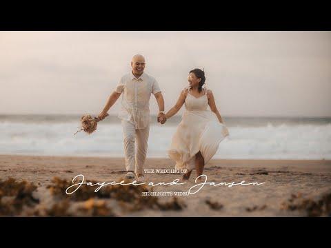 Jaycee and Jansen's Intimate LA UNION Wedding   Highlights Video by Nice Print Photography