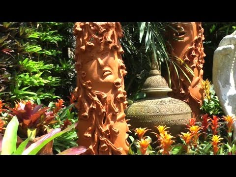 The Amazing Pottery Garden at Nong Nooch | Pattaya Thailand Thai HD