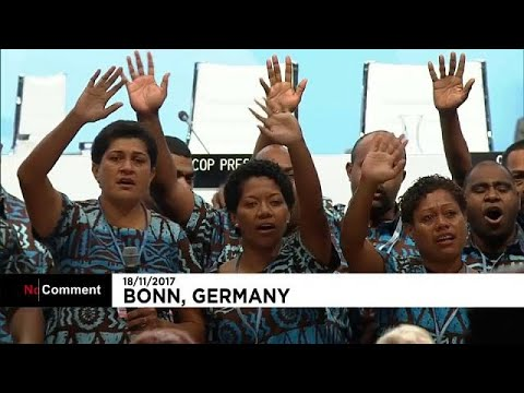Fiji farewell song closes COP23