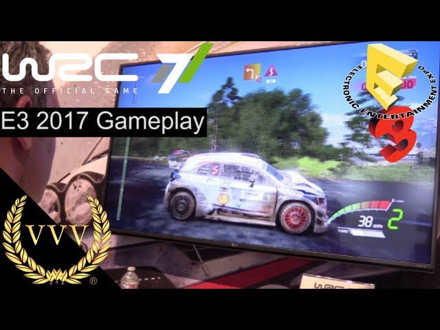 WRC 7 E3 2017 Corsica Preview Gameplay