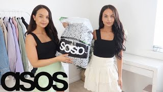 ASOS TRY ON HAUL (Summer Dresses) - AYSE AND ZELIHA