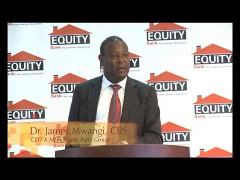 Equity Bank Group posts a 21% growth quarter 1 2013 pre-tax profits