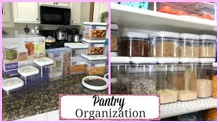 REFRESHING THE PANTRY ~ ORGANIZATION