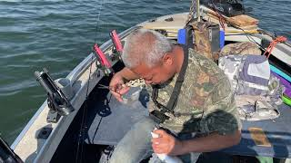 Fishing with Terry Owens at Aurora Reservoir Episode 2
