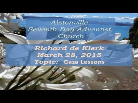 150328 Richard de Klerk   Alstonville SDA Church   March 28 2015
