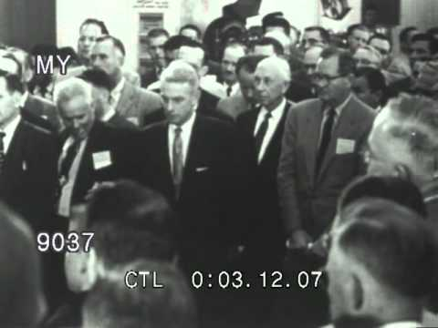 Stock Footage - Car Crash Safety Information Film 1950s with Henry Ford II