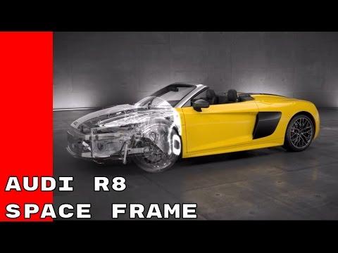 2017 Audi R8 Spyder V10 - Audi Space Frame Animation