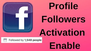 How To Add Follow Button On Facebook Profile In Mobile   Facebook Follower Option Settings 2019