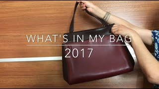 What's In My Bag 2017