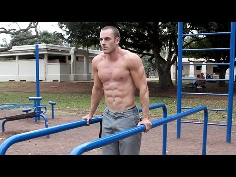 Abs and Core Bar Workout 6+ Calisthenics Exercises