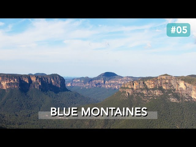 LE PARC NATIONAL DES BLUE MOUNTAINS, AUSTRALIE
