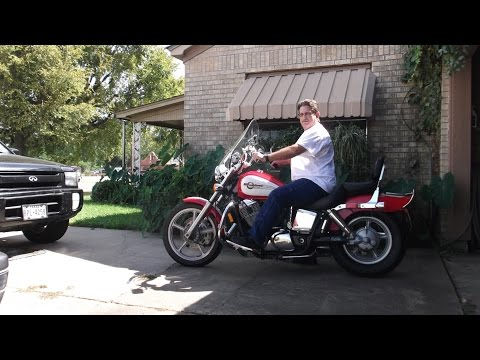 riding my 1100 cc motorcycle on my birthday 9/26/14
