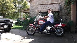 riding my 1100 cc motorcycle on my birthday 9/26/14