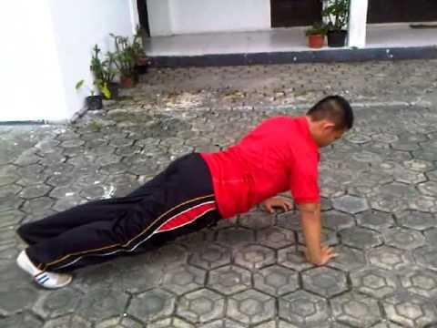 Bambang Irawan Portofolio Olahraga SNMPTN Push Up