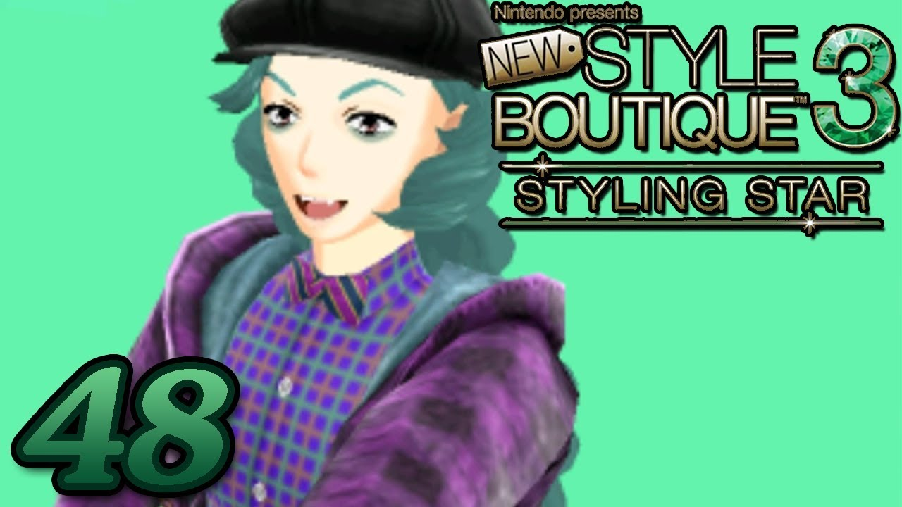 New Style Boutique 3 Styling Star ~ MENSWEAR UNLOCKED SCHOOL BOY Part 48 ~  Gameplay Walkthrough