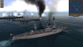 Pacific Storm Allies Battleships Testing