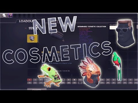 TF2: ALL Of The Cosmetics From The NEW Abominable Cosmetic Case!