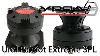 Обзор компрессионного драйвера Ural (Урал) Patriot Extreme SPL