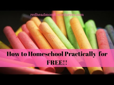 How to Homeschool Practically for Free!