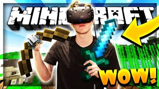 THE MOST REALISTIC MINECRAFT EXPERIENCE (H4M VR)