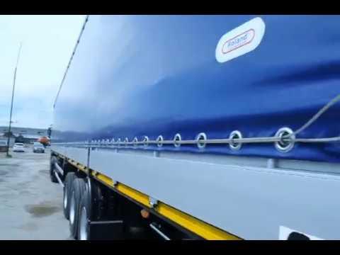 3х Бортовой полуприцеп TEXOMS - YouTube