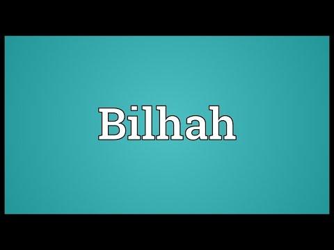 Header of Bilhah