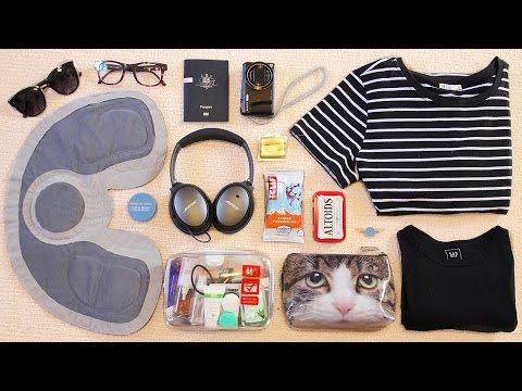 What's In My Travel Bag