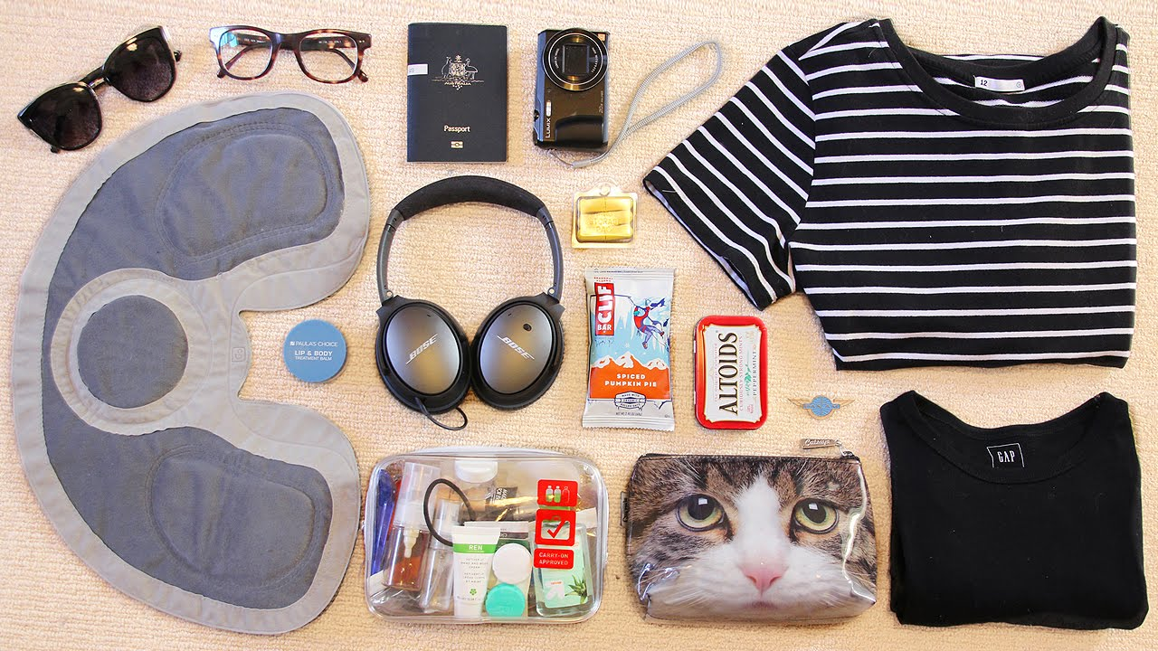 What s in my travel bag youtube