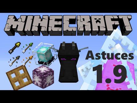 Minecraft - Astuces de la 1.9