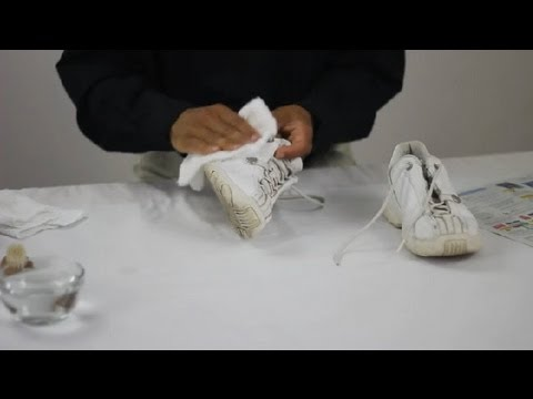 How to Wash Leather Sneakers : Leather Care