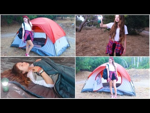 Camping/Vacation Makeup, Hair, Outfits, + Essentials!