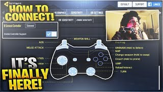 COD Mobile How to Connect Controller on Call of Duty Mobile (Android and iPhone Controller Gameplay)