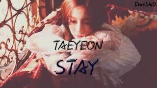 Taeyeon - Stay Lyrics (Kanji/Rom/Indo/Eng)